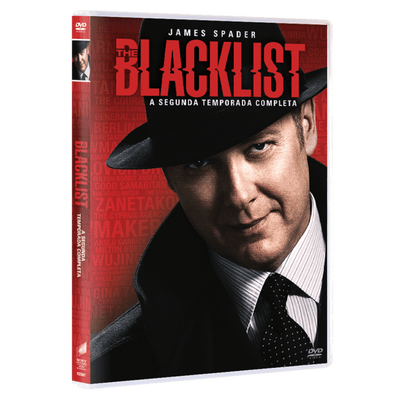 DVD The Blacklist - 2ª Temporada - 5 Discos