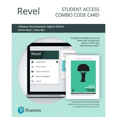 Revel For Lifespan Development -- Combo Access Card