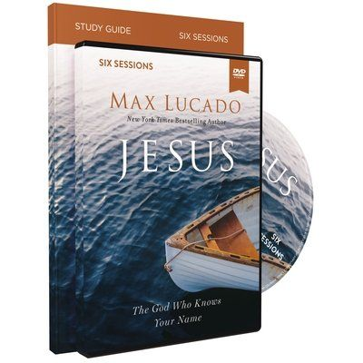 Jesus Study Guide With DVD - The God Who Knows Your Name