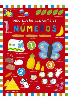 Meu Livro Gigante De Números - Ciranda Cultural | Tagrny.org