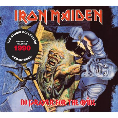 CD IRON MAIDEN - NO PRAYER FOR THE DYING (1990) - REMASTERED