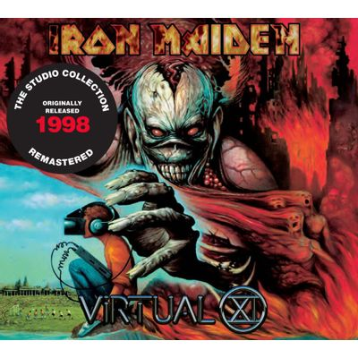 CD IRON MAIDEN -VIRTUAL XI (1998)  - REMASTERED