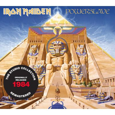 CD IRON MAIDEN - POWERSLAVE (1984) - REMASTERED