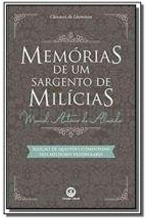 Memórias De Um Sargento De Milícias - Almeida,Manuel Antônio De | Hoshan.org