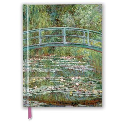 Claude Monet: Bridge Over A Pond For Water Lilies (Blank Sketch Book)