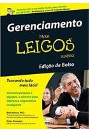 Gerenciamento Para Leigos - Edição de Bolso - Nelson,Bob Economy,Peter | Hoshan.org