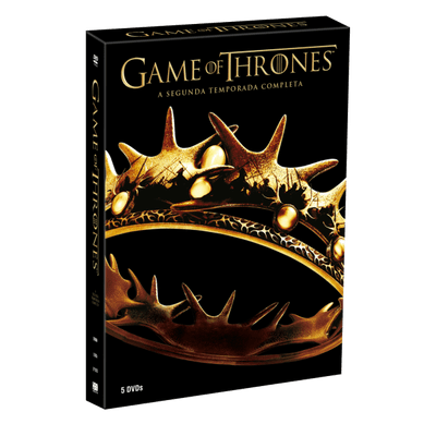 DVD Game Of Thrones - 2ª Temporada - 5 Discos