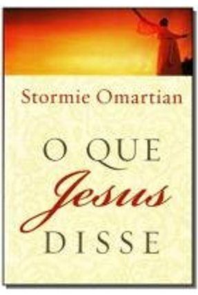 O Que Jesus Disse - Omartian,Stormie pdf epub