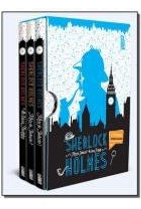 Box - Sherlock Holmes - 3 Volumes - Dedopulos,Tim | Hoshan.org