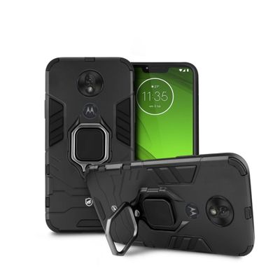 Capa Defender Black para Motorola Moto G7 Power - Gorila Shield