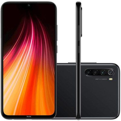 "Smartphone Xiaomi Redmi Note 8 LTE Dual Sim 6.3"" 64GB/4GB Space Black"