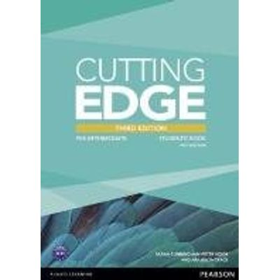 Cutting Edge - Pre-Intermediate - Student'S Book With Dvd-ROM - Third Edition