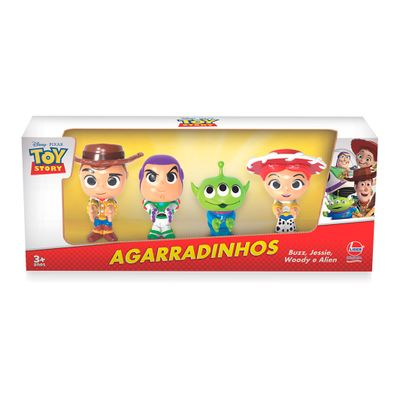 Conjunto de Bonecos - Disney - Toy Story - 4 Personagens - Líder