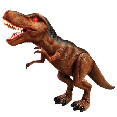 Figura com Movimento - Dinossauro - Mighty Megasaur - Super T-rex - com Luzes e Sons - Fun