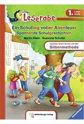 Ein Schultag Voller Abenteuer - Leserabe - 1. Lesestufe Zurück - Klein,Martin   Nisrs.org