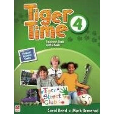 Tiger Time Student's Book With Ebook Pack-4