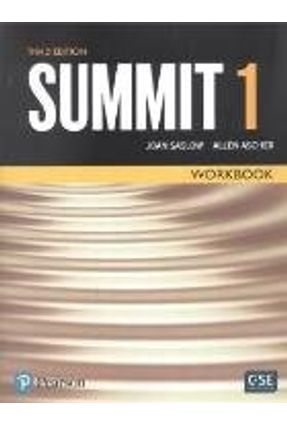 Summit 3ed Work Book Level 1 - Saslow,Joan Ascher,Allen | Tagrny.org
