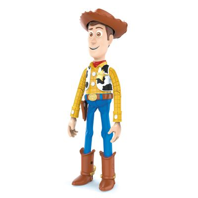 Figura Articulada - 30 Cm - Disney - Toy Story 4 - Woody Com Frases - Toyng