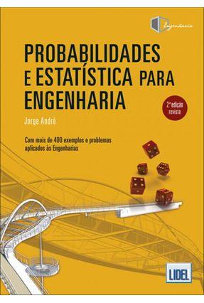 Probabilidades e Estatística Para Engenharia - 2ª Ed. 2018 - André,Jorge pdf epub
