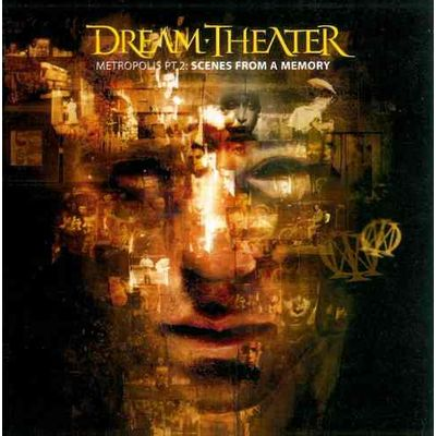 CD DREAM THEATER - SCENES FROM A MEMORY