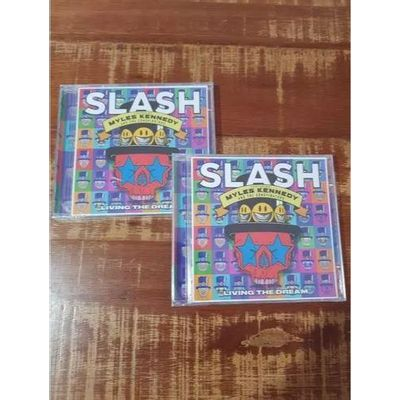 CD SLASH - LIVING THE DREAM - FEAT. MYLES KENNEDY & THE CONSPIRA