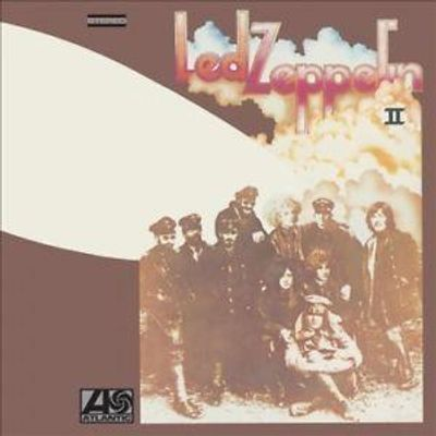 LP VINIL -  LED ZEPPELIN II -  REMASTERED BY JIMMY PAGE - IMPORTADO 180G
