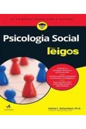 Psicologia Social Para Leigos - Richardson,Daniel C. pdf epub