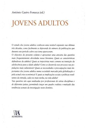 Jovens Adultos - António Castro Fonseca | Hoshan.org