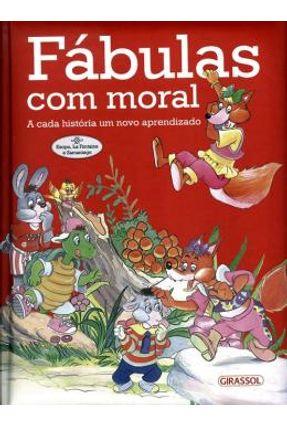 Fábulas Com Moral - Vermelho - Girassol | Tagrny.org