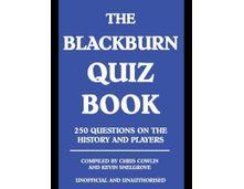 Personalised Blackburn Rovers Football Book