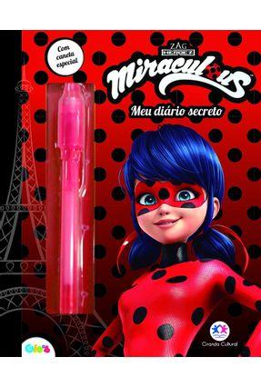 Ladybug - Meu Diário De Segredos - Editora Ciranda Cultural   Nisrs.org