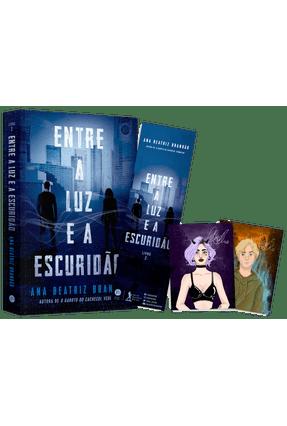 Entre A Luz e A Escuridão + Cards + Marcador - Brandão,Ana Beatriz | Hoshan.org