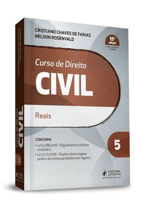 Curso De Direito Civil - Vol. 5 - 15ª Ed. 2019 - Farias,Cristiano Chaves de Rosenvald,Nelson   Hoshan.org