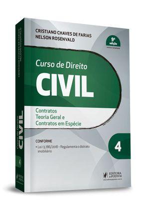 Curso De Direito Civil - Vol. 4 - 9ª Ed. 2019 - Rosenvald,Nelson Farias,Cristiano Chaves de | Hoshan.org
