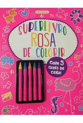 Superlivro - Rosa De Colorir