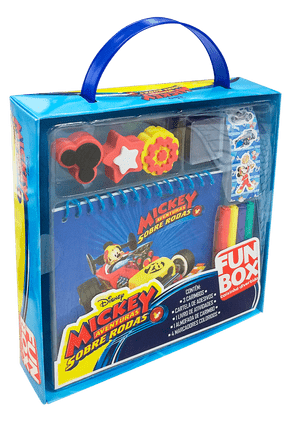 Disney Fun Box - Caixinhas Divertidas - Mickey Mouse - Aventuras Sobre Rodas - Disney Publishing | Tagrny.org