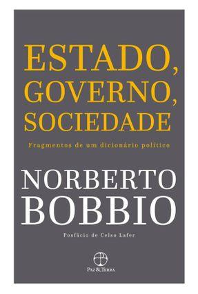 Estado, Governo, Sociedade - Fragmentos de Um Dici - Bobbio,Norberto pdf epub