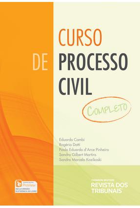 Curso de Processo Civil - Completo - Doria,Rogeria Dotti Cambi,Eduardo Eduardo,Paulo | Hoshan.org
