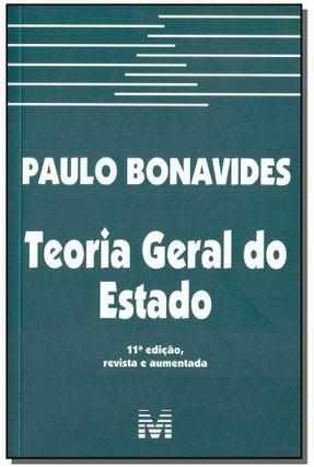 Teoria Geral do Estado - 11ª Ed. 2018 - Bonavides,Paulo | Hoshan.org