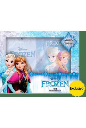 Frozen - Livro + Camiseta - Disney | Hoshan.org
