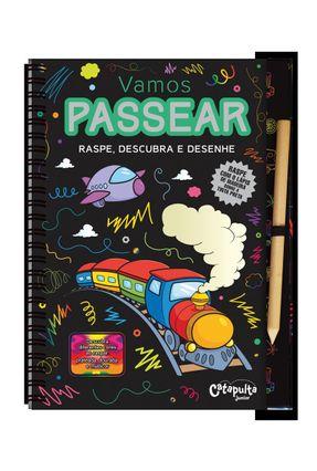 Passear - Raspe, Descubra e Desenhe - Editora Catapulta pdf epub