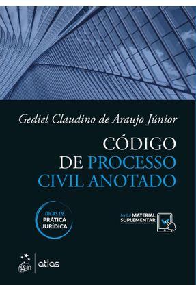 Código De Processo Civil Anotado - Araujo Júnior,Gediel Claudino De   Tagrny.org