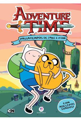Adventure Time - Passatempos de Jake e Finn - Livro de Adesivos - Editora Ciranda Cultural   Nisrs.org