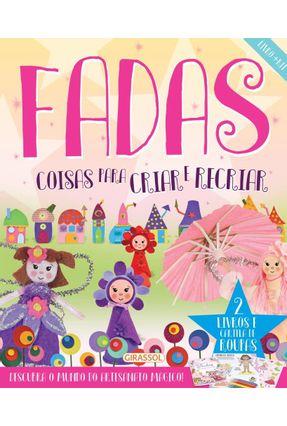Livro + Kit Fadas - Coisas Para Criar e Recriar - Top That! | Hoshan.org