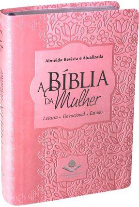 Bíblia Da Mulher Média Capa Sint. Rosa Claro - Sociedade Bíblica do Brasil | Tagrny.org