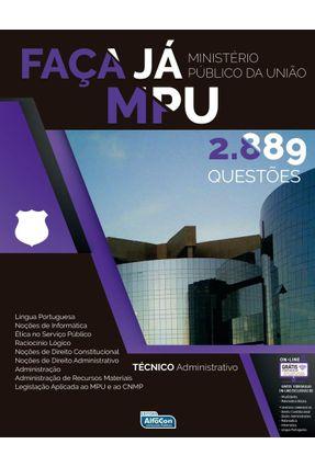 Faça Já - Mpu - 2.889 Questões Gabaritadas - Alfacon   Hoshan.org