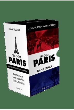 Box - Trilogia Paris - Os Aventureiros da Arte Moderna - 3 Volumes - Pocket - Franck,Dan | Hoshan.org