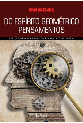 do Espírito Geométrico Pensamentos - PASCAL   Nisrs.org