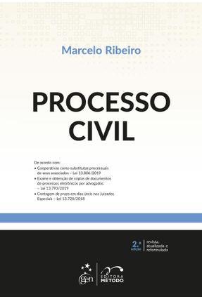 Processo Civil - 2ª Ed. 2019 - Ribeiro,Marcelo pdf epub