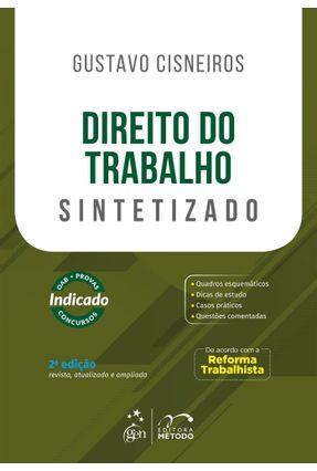 Direito do Trabalho - Sintetizado - 2 ª Ed. 2018 - Cisneiros,Gustavo pdf epub